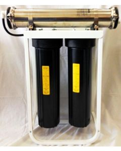 1000 GPD Commercial Grade Reverse Osmosis Water Filtration System - RO for Hydroponic Use