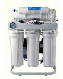100 GPD Reverse Osmosis Alkaline Water Filtration System + Booster Pump