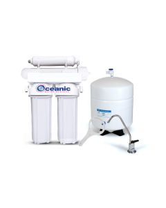 4 Stage: Complete Home Reverse Osmosis Drinking Water Filtration System 75 GPD