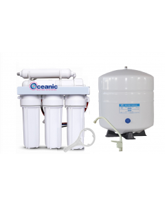5 Stage: Complete Home Reverse Osmosis Drinking Water Filtration System | Low Pressure Unit