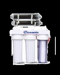 Oceanic Aquarium Reef Reverse Osmosis DI Water Filter 6 Stage System 100 GPD | 0 ppm