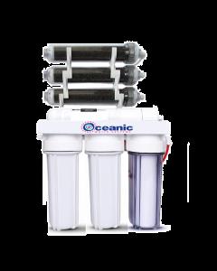 7 Stage | 0ppm RO/DI Aquarium Reef Reverse Osmosis Deionization System | 75 GPD |