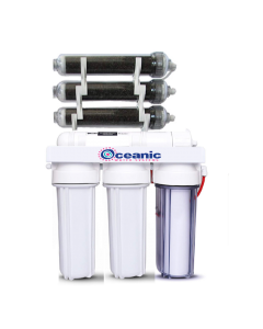 7 Stage | 0ppm RO/DI Aquarium Reef Reverse Osmosis Deionization System | 100 GPD |
