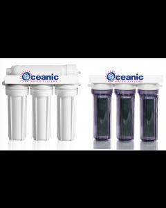 7 Stage PRO RO/DI Aquarium Reef Reverse Osmosis Deionization System | 75 GPD