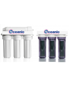 7 Stage PRO RO/DI Aquarium Reef Reverse Osmosis Deionization System | 100 GPD