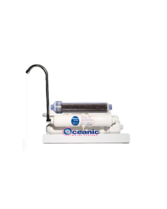 Dual Outlet Counter Top Reverse Osmosis Water Filtration System (Drinking & Aquarium Use)
