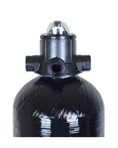 "1.0 Cubic Ft. Whole House Acid Neutralizing pH Adjusted Calcite Water Filter System + Manual Backwash Valve | 9"" x 48"""