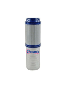 "Dual Stage Filter: Sediment + GAC Coconut Granular Activated Carbon Filter 2.5"" x 9.75"""