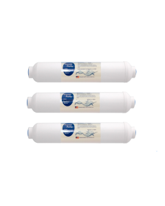 "3 Pack: Inline Post-Carbon Water Filter 2"" x 10"""