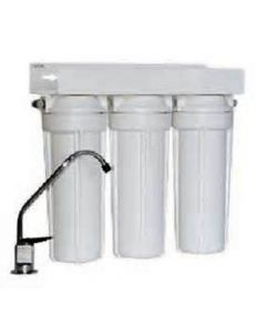 3 STAGE UNDERCOUNTER FILTER SYSTEM FLUORIDE/CHLORINE REDUCTION