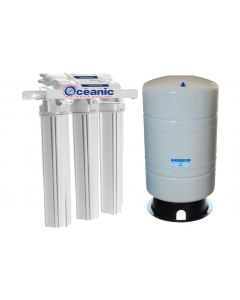 "Light Commercial Reverse Osmosis Drinking Water System | 300 GPD + 14 Gallon Tank | 20"" Housing"