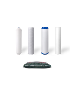 Replacement Water Filter Set for Dual Outlet Reverse Osmosis Filtration Systems