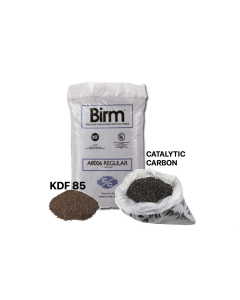 GAC Catalytic Carbon/Birm + KDF 85 Media | 5 LBS | Iron, Hydrogen Sulfide and Manganese Reducing Media