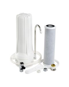 Counter Top Single Stage Home Drinking Water Filter - CTO Carbon Block
