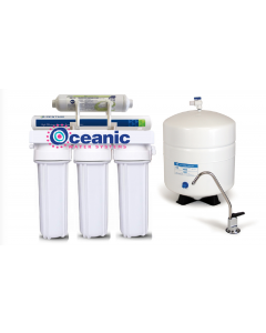 5 Stage Reverse Osmosis Water Filtration System 75 GPD | 1:1 Drain Ratio Low Waste/High Recovery RO System