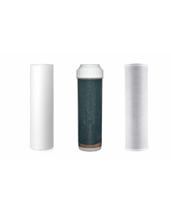 Compatible Replacement Filter Set for Hydrologic Stealth RO Systems: HLKDF10 / 741646 / 22105 or 22125