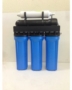 Reverse Osmosis water filter 5 stage Core System 100 GPD Made in U.S.A.