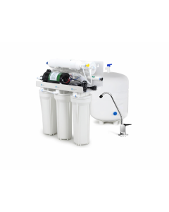 5 Stage with Booster Pump: Complete Home Reverse Osmosis Drinking Water Filtration System
