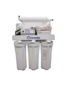 75 GPD Reverse Osmosis Water Filtration System + Booster Pump