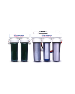 6 STAGE AQUARIUM REEF | 50 GPD | RO/DI REVERSE OSMOSIS WATER FILTRATION SYSTEM + DUAL DI | MADE IN USA
