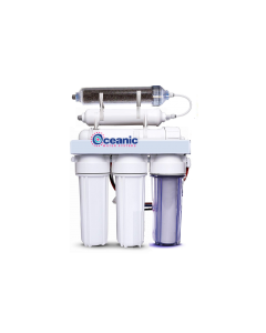 75 GPD | Portable Reverse Osmosis Dual Outlet Use (Drinking + 0 TDS Aquarium Reef / Deionization) Water Filtration System