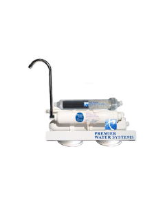 Portable Countertop Reverse Osmosis ALKALINE Drinking Water Filter System | 5 Stage Low Pressure Membrane