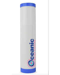 """4.5"""" x 20"""" Big Blue Refillable Filter Cartridge - Catalytic Carbon/KDF 55 - Chloramine Removal"""