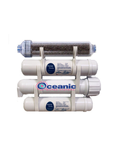 Heavy Duty Portable Aquarium Reef Reverse Osmosis Water Filter System XL | 50 GPD RODI | Rated for 2500 Gallons | USA