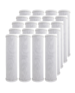 "Pack of 20: Carbon Block Water Filters- 5 Micron | 2.5"" x 9.75"""