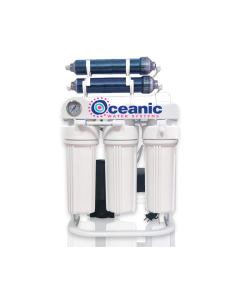 Reverse Osmosis + Deionization (RO/DI) - 200 GPD Light Commercial Grade Water Filtration System 0 TDS + Booster Pump w/Dual DI