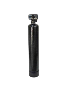 "Oceanic Whole House Water Filtration System + Fleck 5600 Valve | 8""x 44"" Tank - 0.75 Cubic ft. of Coconut Shell Carbon (GAC)"