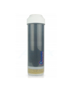 "KDF 55 + GAC (2.5"" x 9.75"") Chlorine, Heavy Metal Filter- for 10"" Countertop and Under Sink RO Filtration"