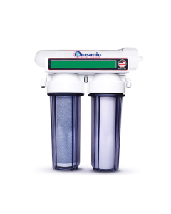 3 Stage - Hydroponics Reverse Osmosis Water Filtration System | 50 GPD | Plant Growth