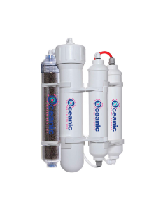 HYDRO-PAL: Portable RODI Reverse Osmosis Water Filtration System | 4 Stage with DI Filter | 50 GPD