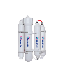 Portable RO Reverse Osmosis Water Filter System | 4 Stage Filtration | 100 GPD | Made in USA