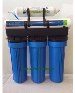 Oceanic Reverse Osmosis Water System High Recovery unit 50% California Edition