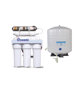 6 Stage ALKALINE pH Plus & ORP Negative Reverse Osmosis Drinking Water Filtration System   100 GPD, Tank