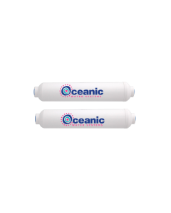 "2 Replacement Inline Filters for Oceanic HYDRO-PAL Portable & Mini Reverse Osmosis 2"" x 10"""