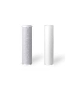 """Sediment + Carbon Block Filters - 5 Micron 