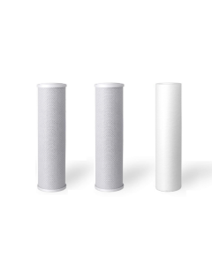 """Sediment + 2 Carbon Block Filters - 5 Micron 