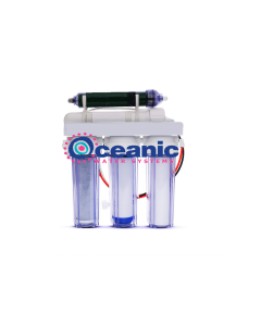 5 Stage RODI Aquarium Reverse Osmosis Water Filtration System 75 GPD | 1:1 Drain Ratio Low Waste/High Recovery RO System