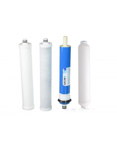 "Culligan RO Filter Set + Membrane for Culligan AC-30 Reverse Osmosis Systems 10"" Post Carbon"