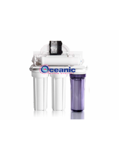 5 Stage Reverse Osmosis Drinking Water Filter System + Permeate Pump ERP1000