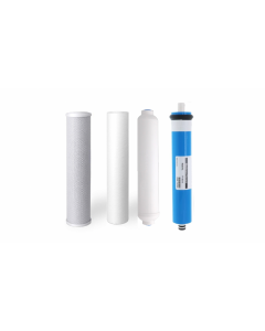 Replacement 4 Stage Reverse Osmosis RO Water Filter Set + Membran