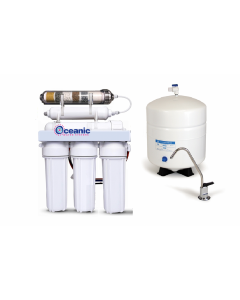 6 Stage ALKALINE pH Plus & ORP Negative Reverse Osmosis Drinking Water Filtration System | 150 GPD, Tank