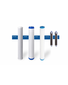 """Replacement RODI Pre-Filters/Cartridges for Commercial Reverse Osmosis DI Water Filtration Systems - 2.5"""" x 20"""""""