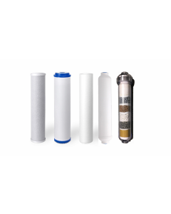 Replacement Water Filter Set for 6 Stage Alkaline Reverse Osmosis Filtration Systems